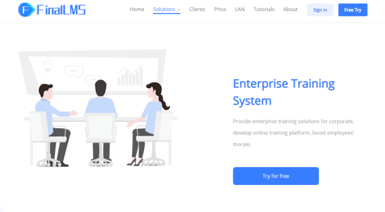 training and learning management system