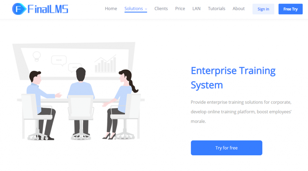 Finllms online learning management system