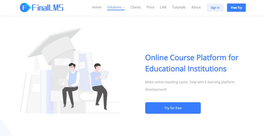 learning management system online